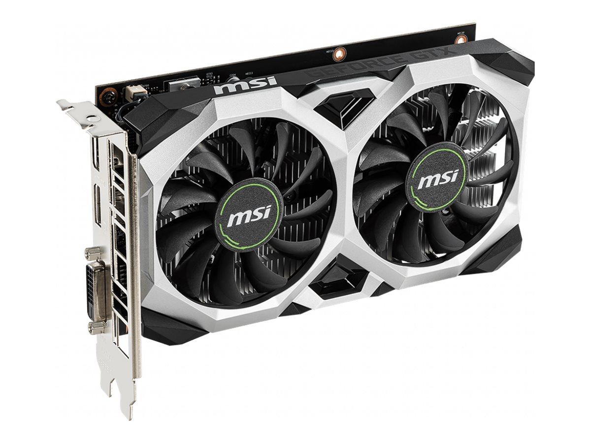 MSI GTX 1650 VENTUS XS 4G OC - graphics card - GF GTX 1650 - 4 GB