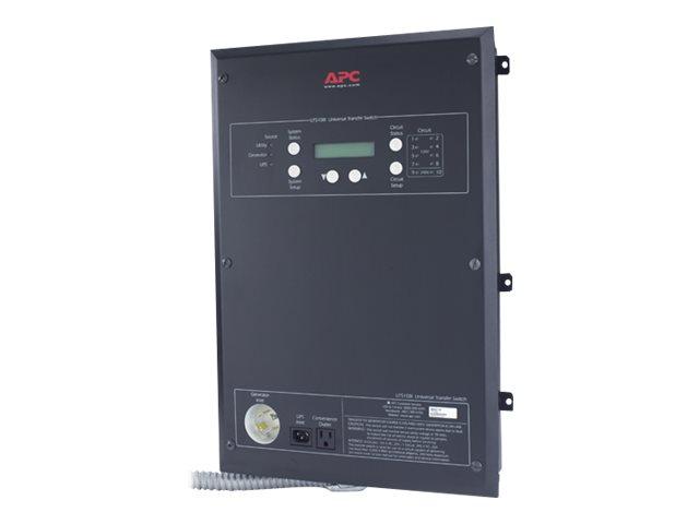 APC Universal Transfer Switch 10-Circuit - bypass switch