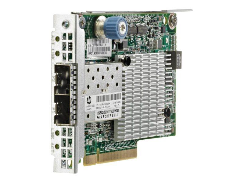 HPE FlexFabric 534FLR-SFP+ - network adapter - PCIe 2.0 x8 - 10 Gigabit SFP+ x 2