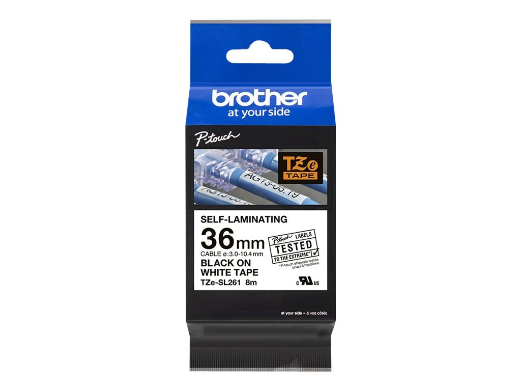 Brother TZe-SL261 - laminated tape - 1 roll(s) - Roll (1.42 in x 26.2 ft)
