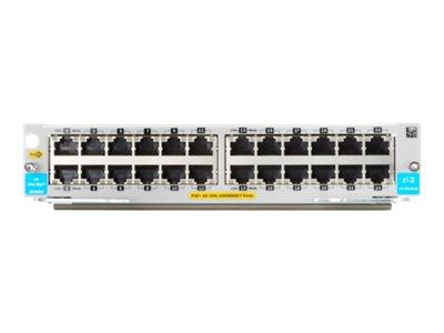 HPE - expansion module - Gigabit Ethernet (PoE+) x 24