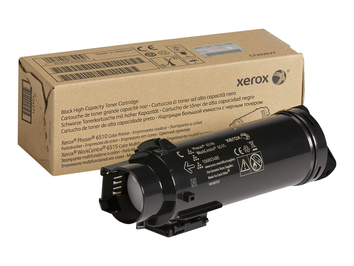 Xerox WorkCentre 6515 - High Capacity - black - original - toner cartridge