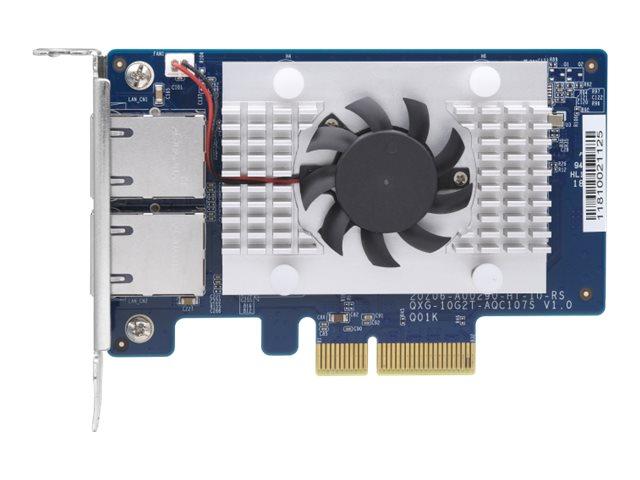 QNAP QXG-10G2T-107 - network adapter - PCIe 2.0 x4 - 10Gb Ethernet x 2