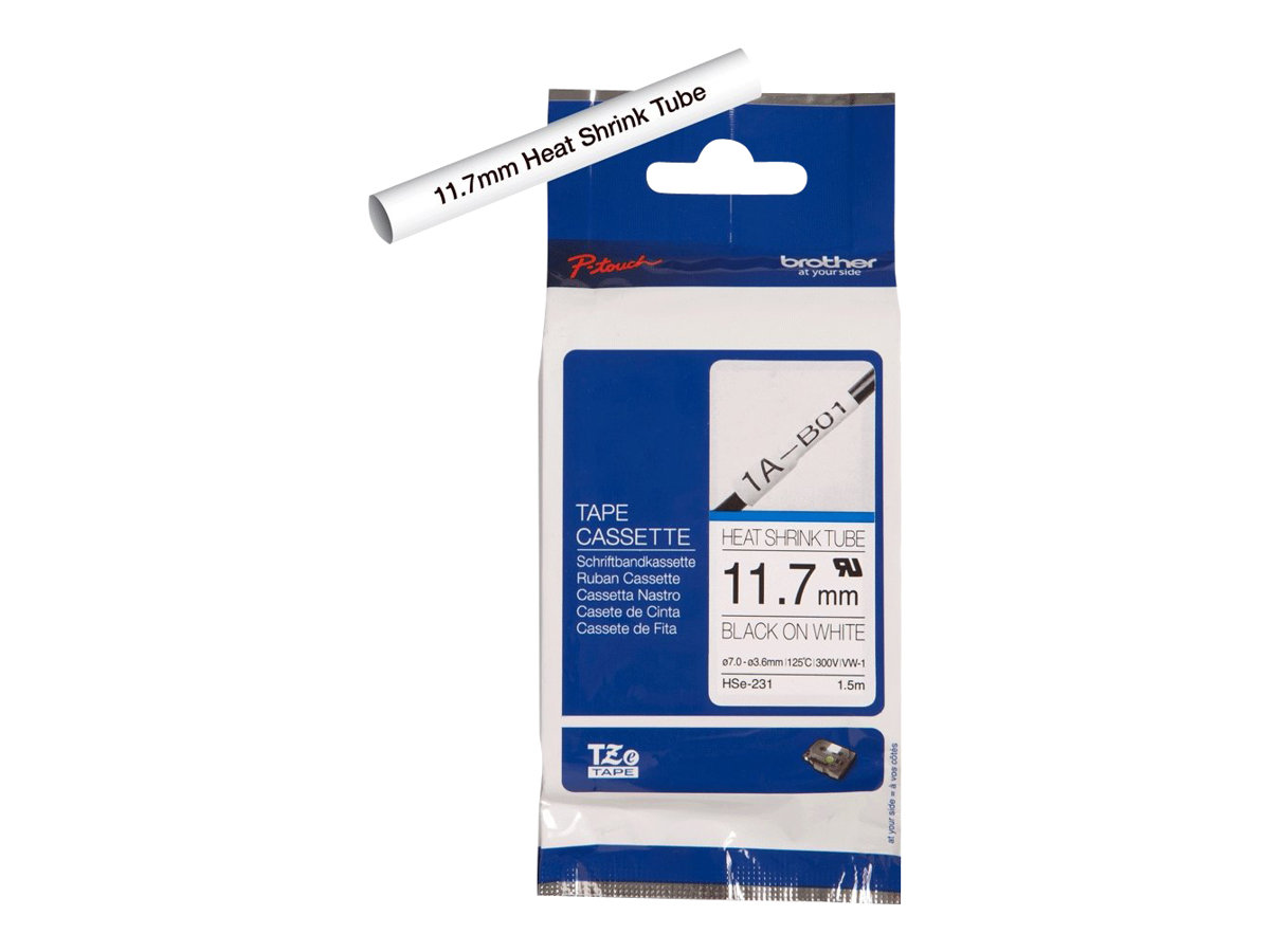 Brother HSe-231 - tube - 1 roll(s) - Roll (0.47 in x 59 in)