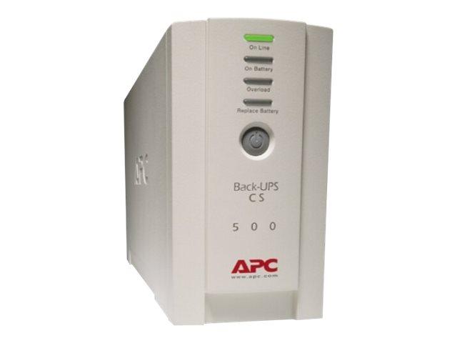 APC Back-UPS CS 500 - UPS - 300 Watt - 500 VA