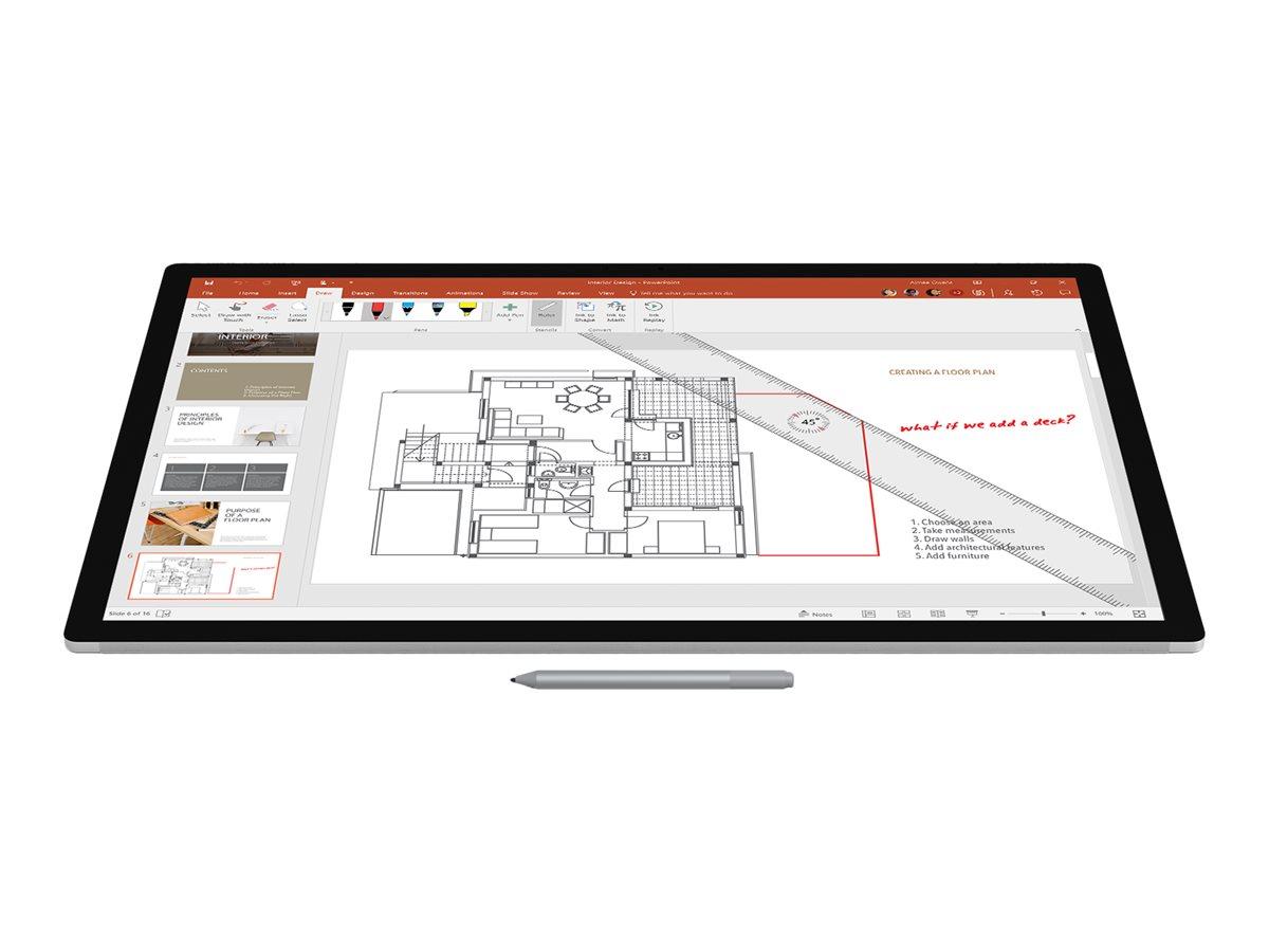 Microsoft Surface Pen - V4 - stylus - Bluetooth 4.0 - silver