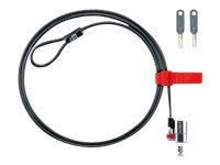Kensington ClickSafe Master Access Keyed Laptop Lock security cable lock