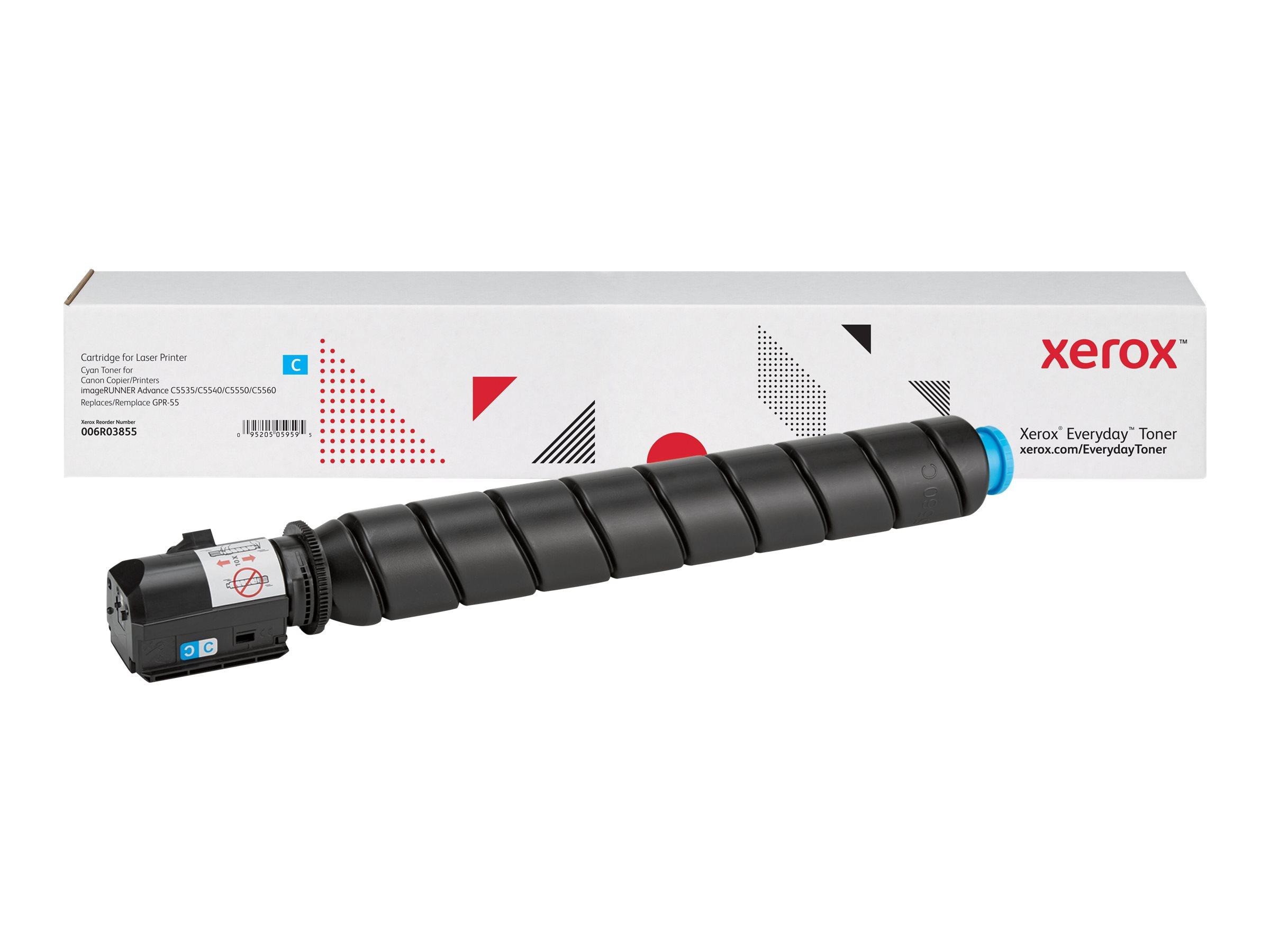 Xerox Everyday - cyan - toner cartridge (alternative for: Canon GPR-55)