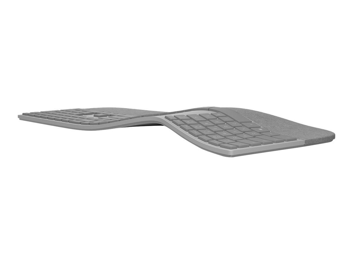 Microsoft Surface Ergonomic Keyboard - keyboard - QWERTY - US - alcantara gray