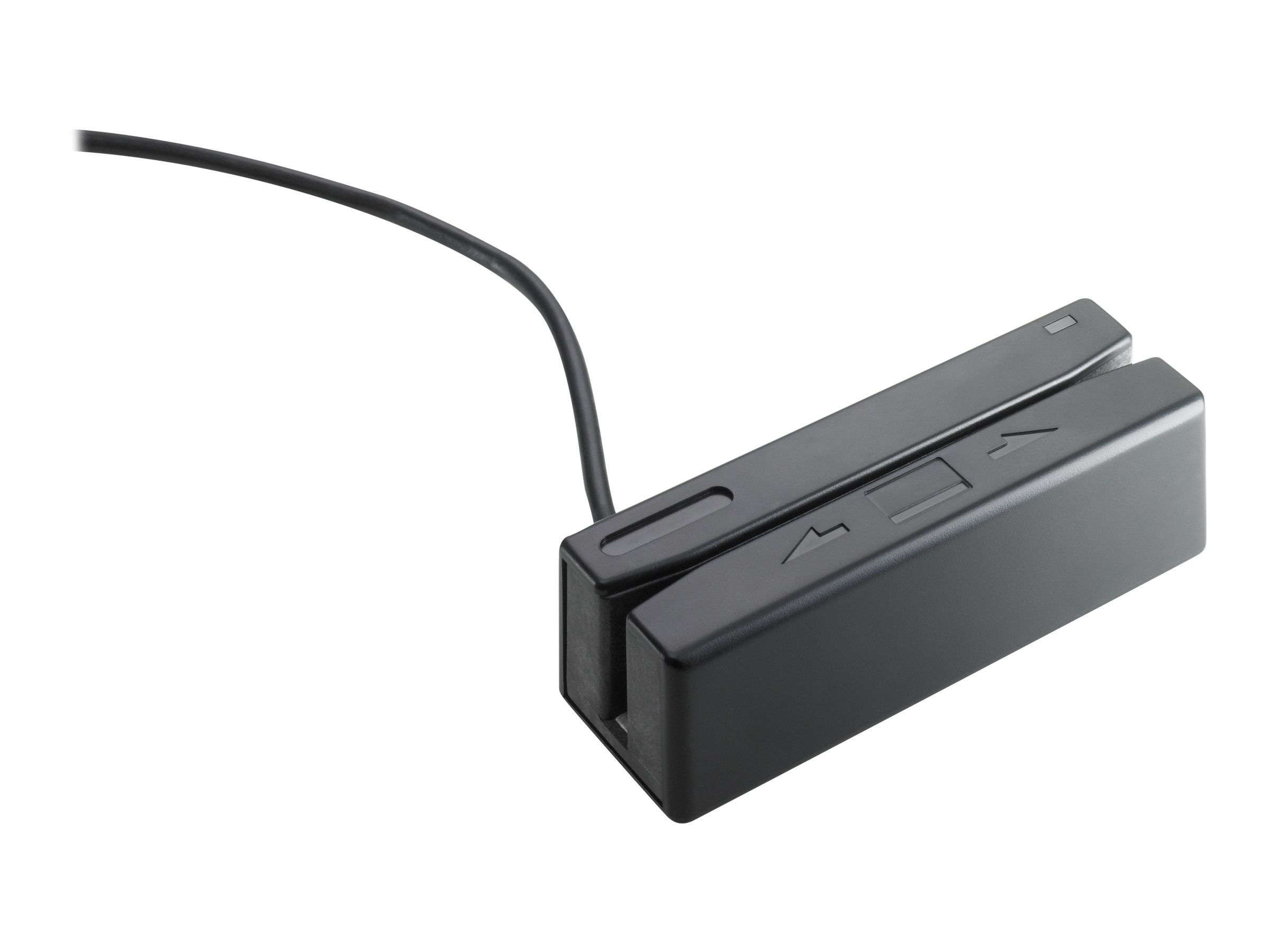 HP USB Mini Magnetic Stripe Reader with Brackets - magnetic card reader - USB