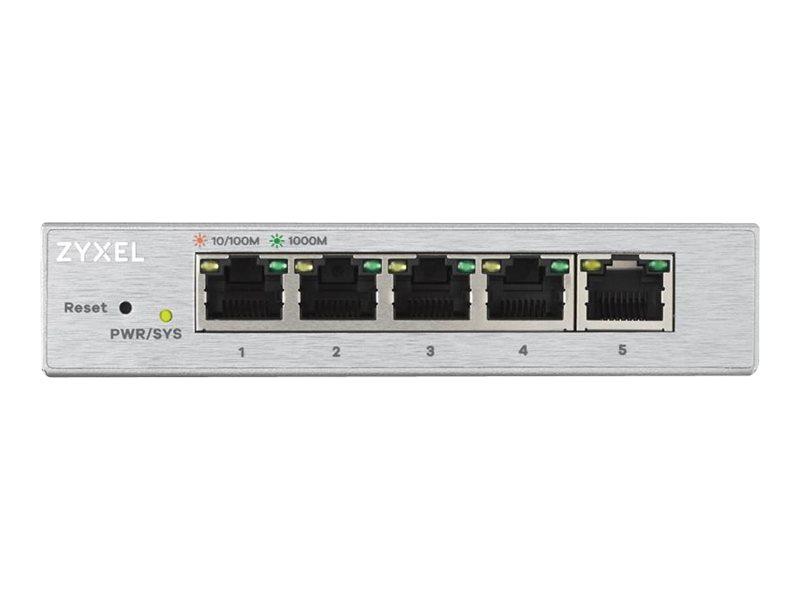 Zyxel GS1200-5 - switch - 5 ports - managed