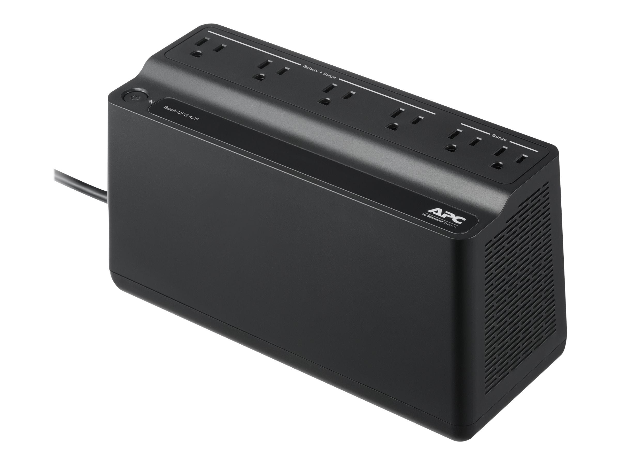 APC Back-UPS BE425M - UPS - 255 Watt - 425 VA