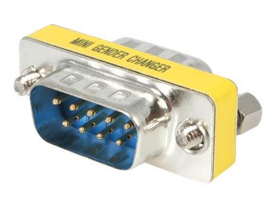StarTech.com Slimline Serial DB9 Gender Changer - M/M - Serial gender changer - DB-9 (M) to DB-9 (M) - GC9SM - serial gender changer - DB-9 to DB-9
