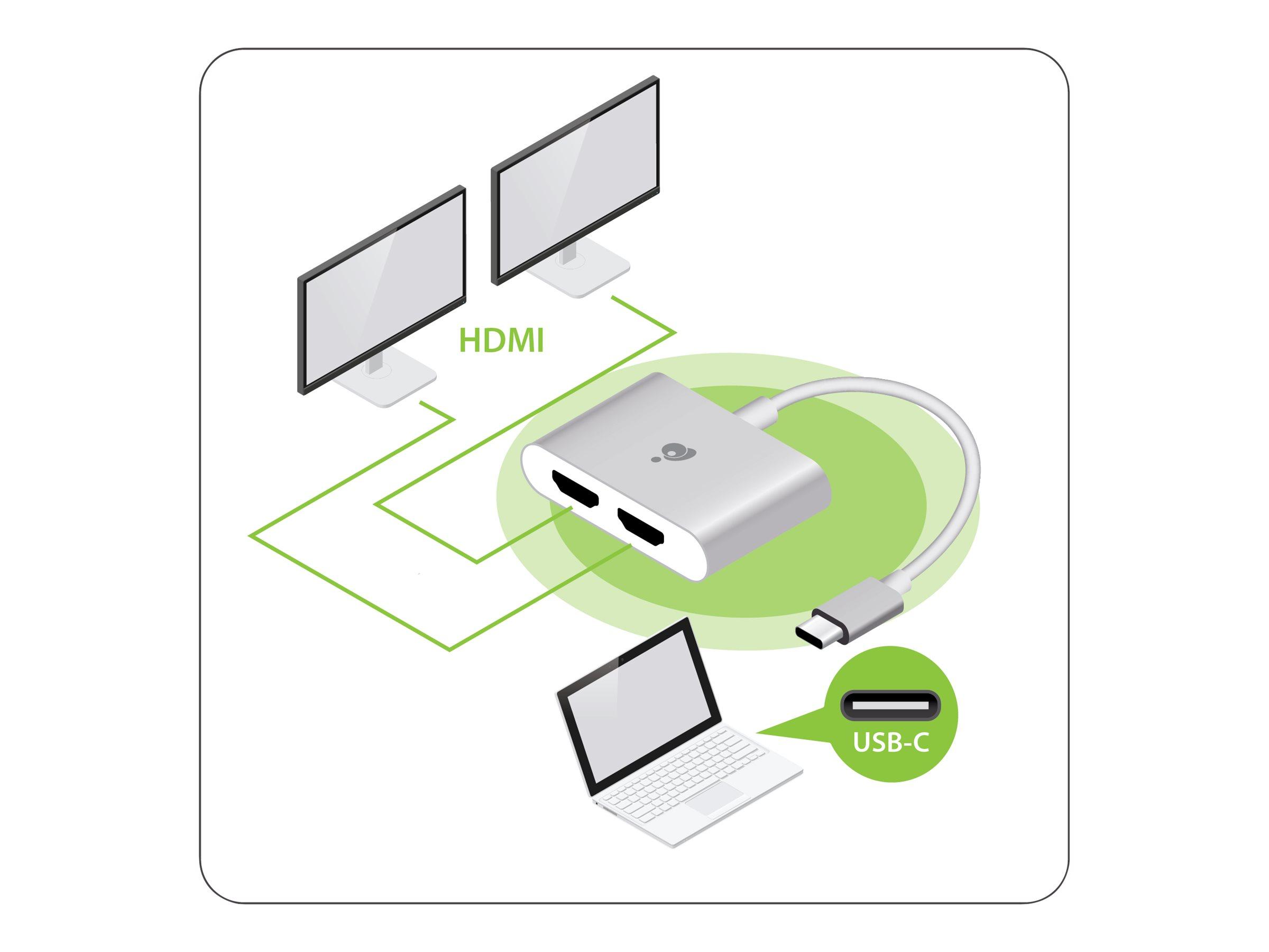 IOGEAR GUC3CHD22 - external video adapter - aluminum
