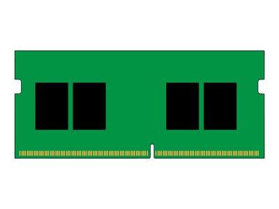 Kingston ValueRAM - DDR4 - module - 8 GB - SO-DIMM 260-pin - 2400 MHz / PC4-19200 - unbuffered