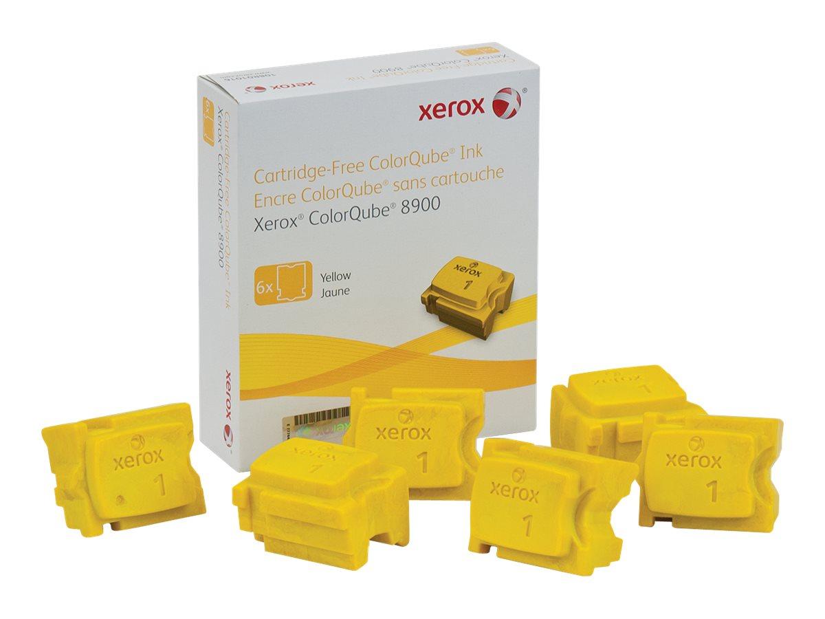 Xerox ColorQube 8900 - 6 - yellow - solid inks