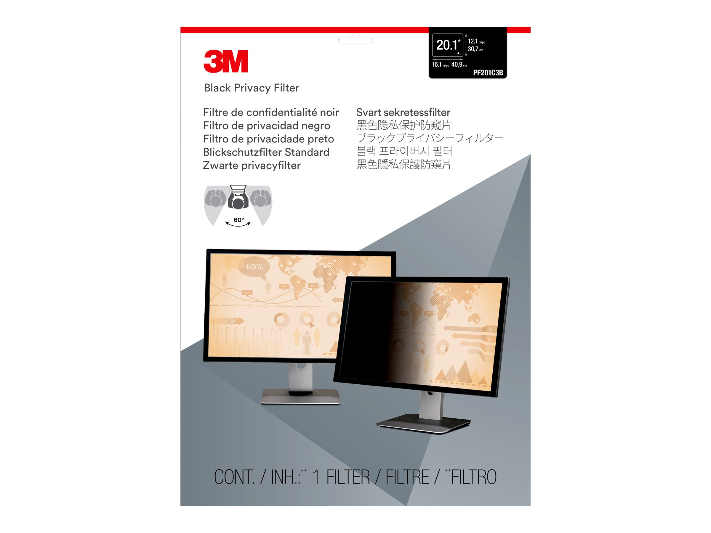 3M Privacy Filter for 20.1