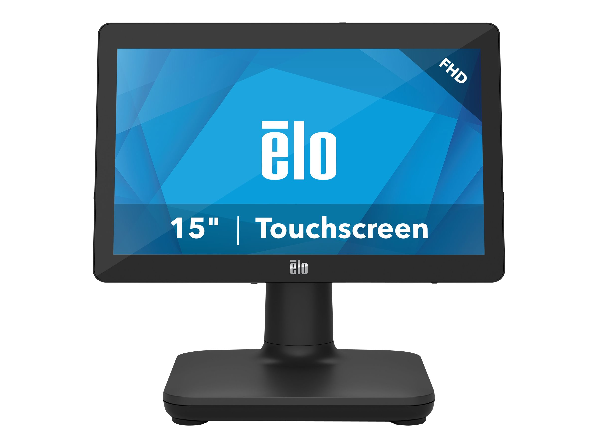 EloPOS System - with I/O Hub Stand - all-in-one - Core i3 8100T 3.1 GHz - 4 GB - SSD 128 GB - LED 15.6