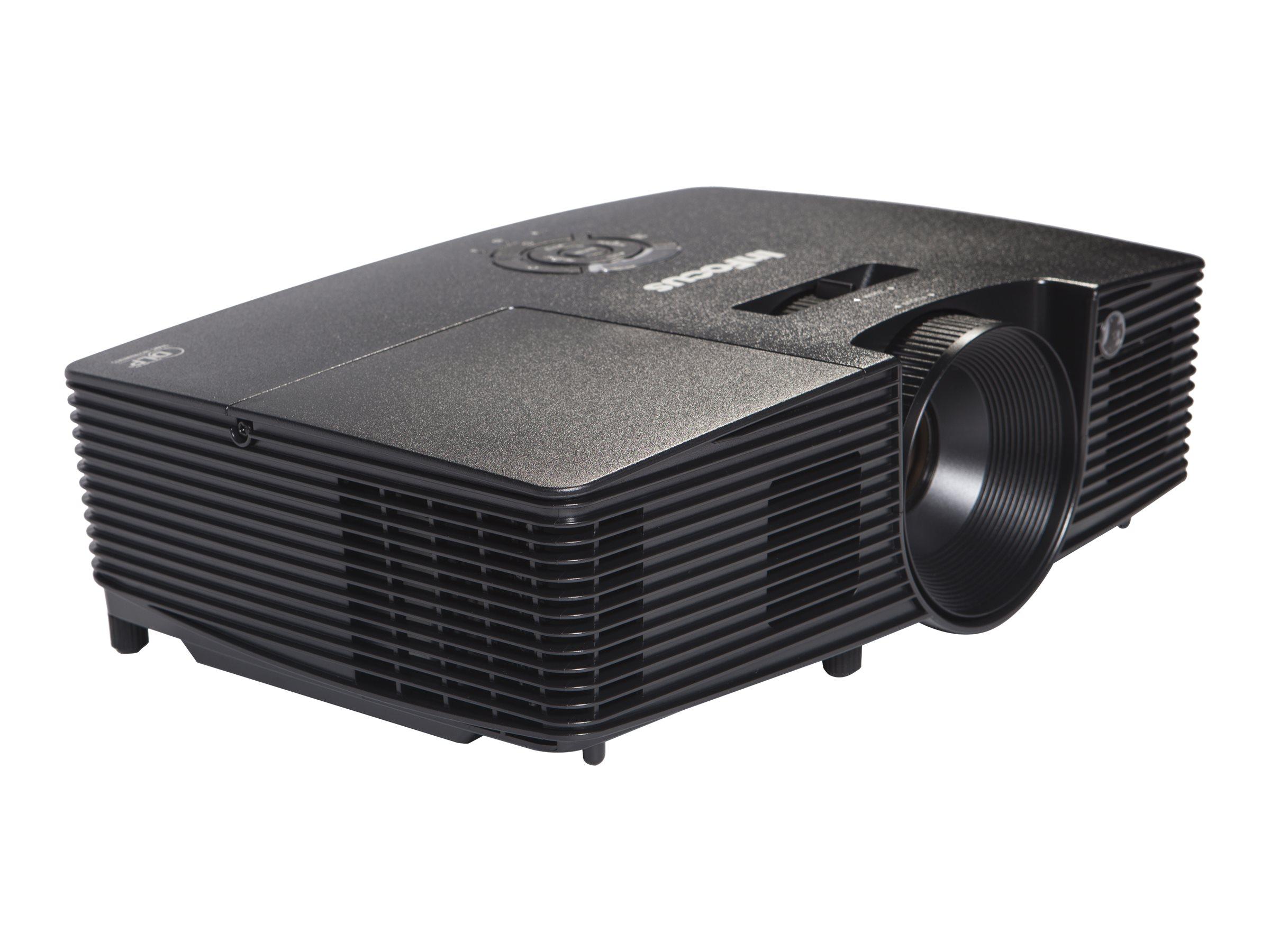 InFocus IN114xv - DLP projector - portable - 3D