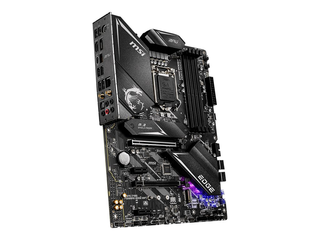 MSI MPG Z490 GAMING EDGE WIFI - motherboard - ATX - LGA1200 Socket - Z490