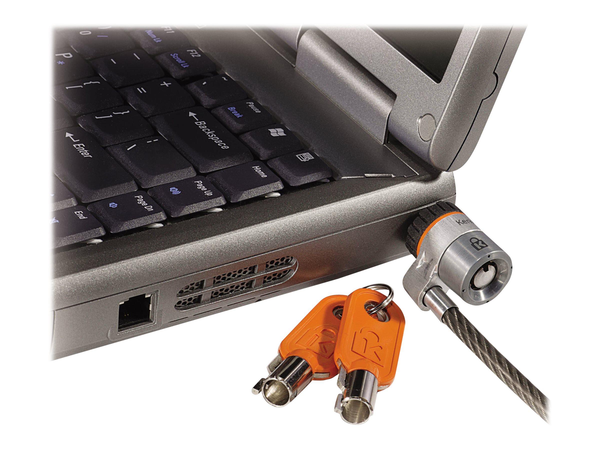 Kensington MicroSaver Master-keyed security cable lock