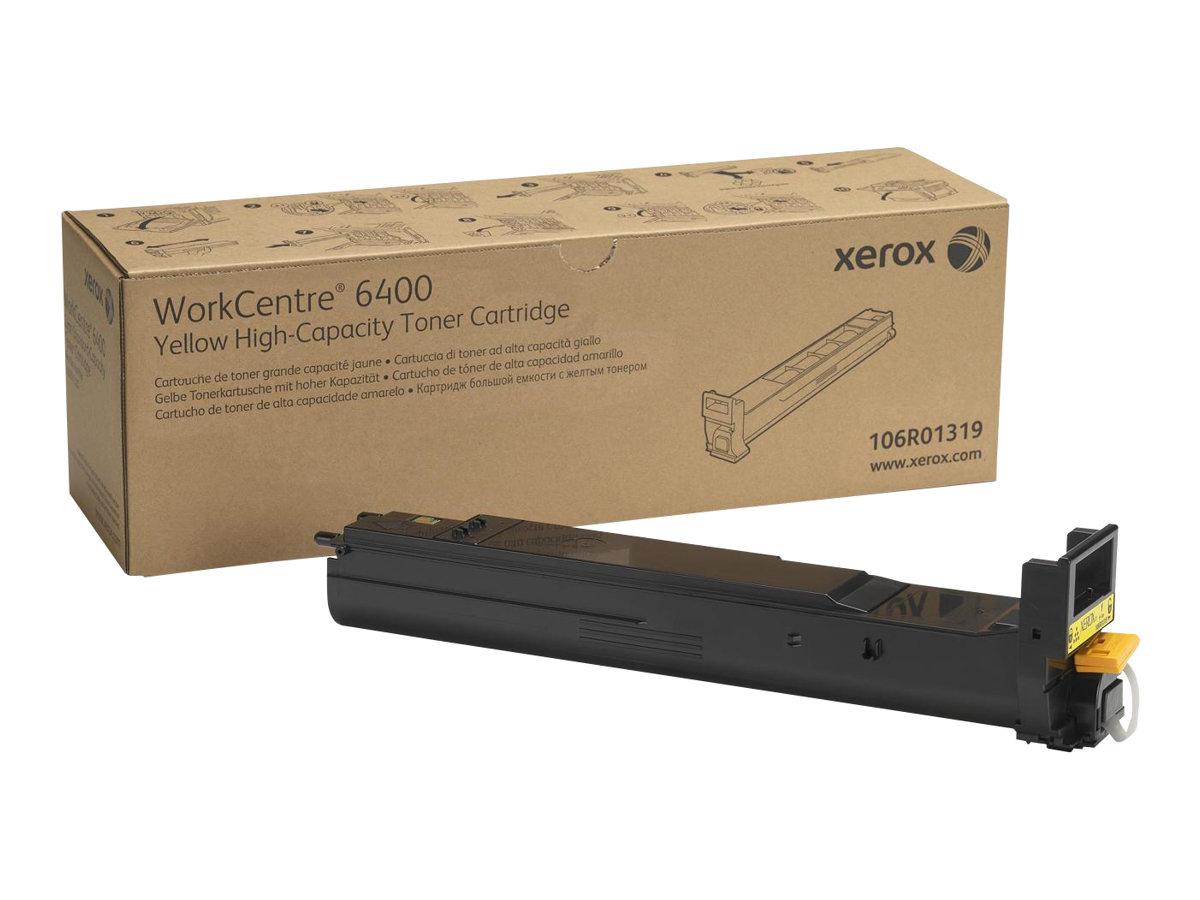 Xerox - High Capacity - yellow - original - toner cartridge