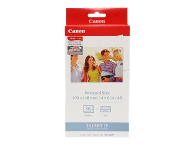 Canon KP-36IP - print cartridge / paper kit