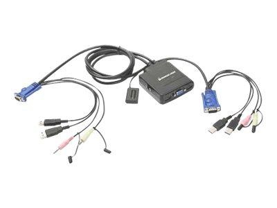 IOGEAR GCS72U - KVM / audio switch - 2 ports