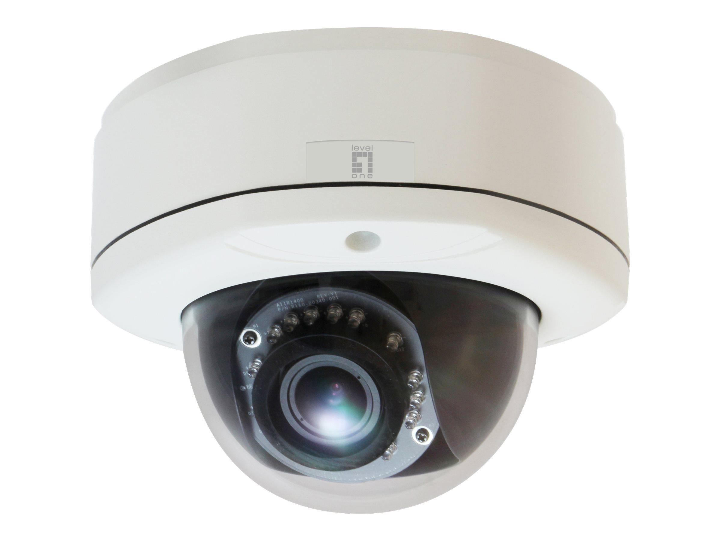 LevelOne FCS-3083 - network surveillance camera - dome