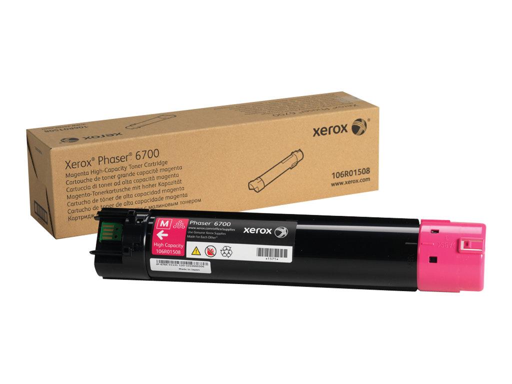 Xerox Phaser 6700 - High Capacity - magenta - original - toner cartridge