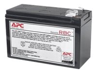 APC Replacement Battery Cartridge #114 - UPS battery - 60 VA - lead acid