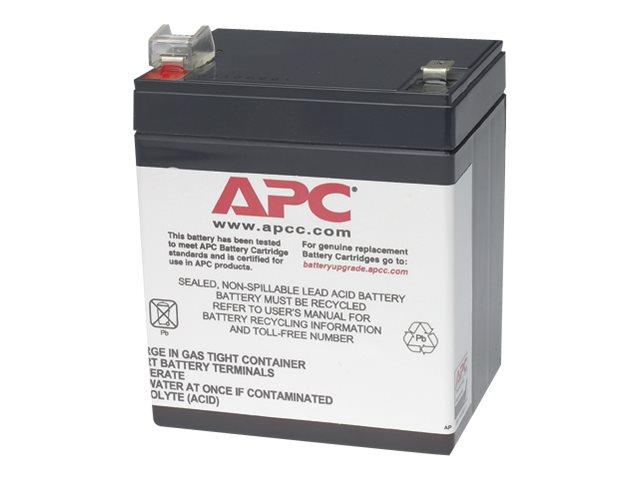 APC Replacement Battery Cartridge #46 - UPS battery - lead acid