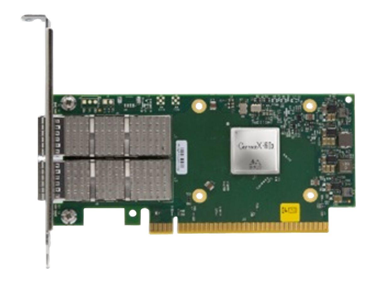 Mellanox MCX623106AS-CDAT - network adapter - PCIe 4.0 x16 - 100 Gigabit QSFP56 x 2
