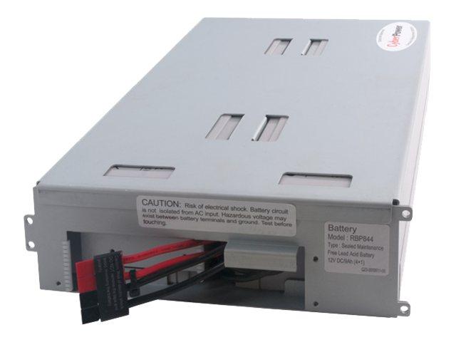 CyberPower RB1290X4B - UPS battery - lead acid - 9 Ah