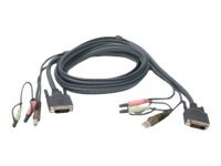 IOGEAR G2L7D02UI - keyboard / video / mouse / audio cable - 6 ft