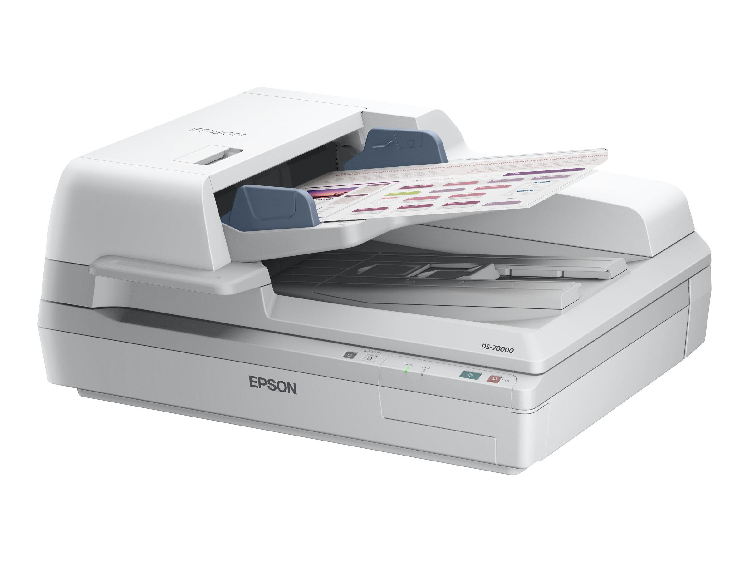 Epson WorkForce DS-70000 - document scanner - USB 2.0