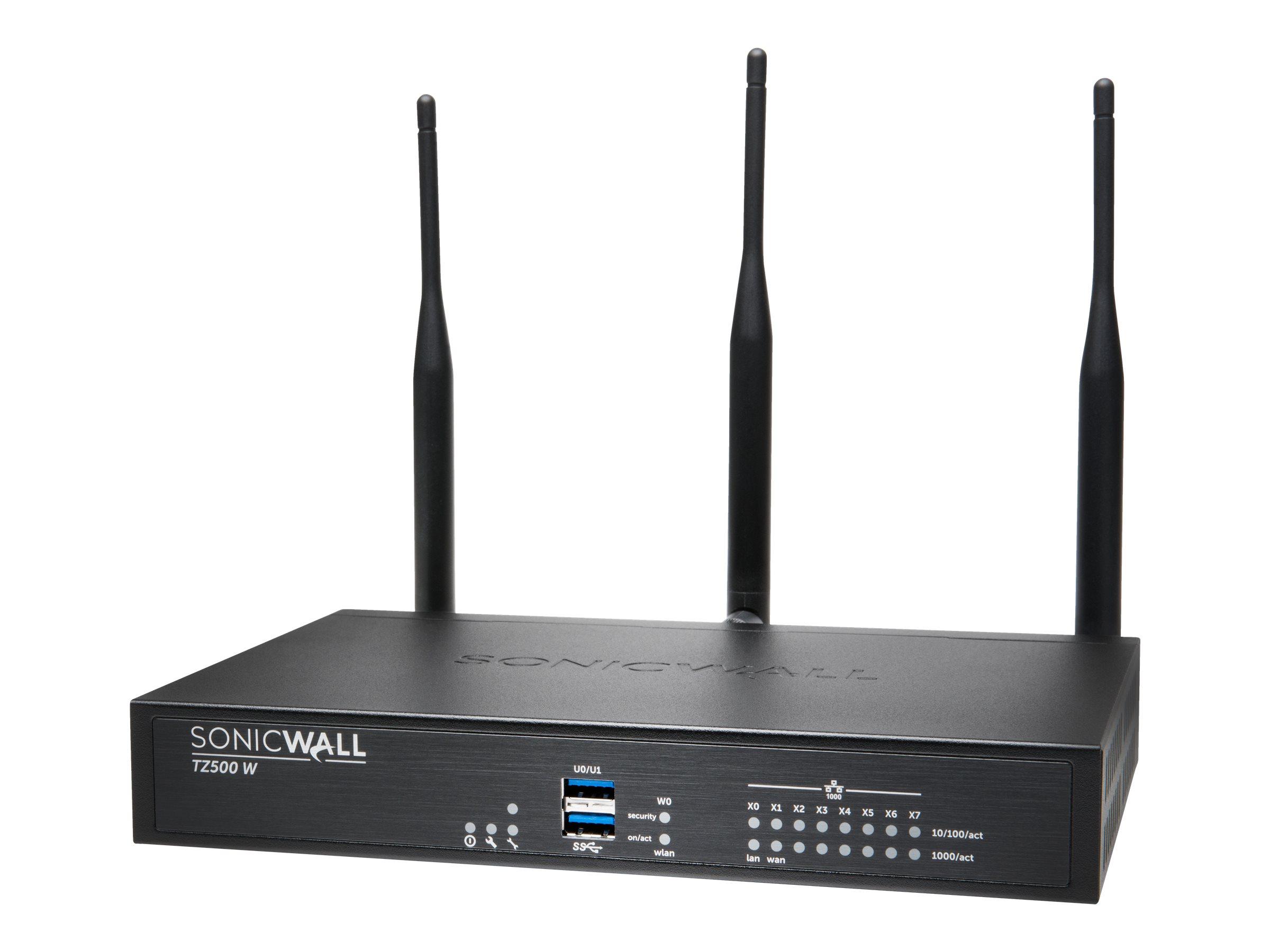 SonicWall TZ500 Wireless-AC - security appliance