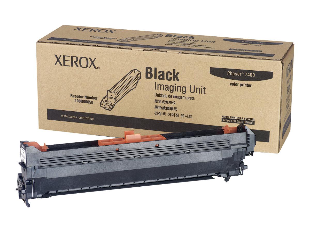Xerox Phaser 7400 - black - original - printer imaging unit