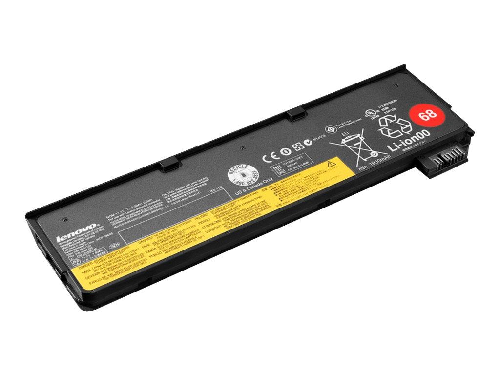 Lenovo ThinkPad Battery 68 - notebook battery - Li-Ion - 2.06 Ah