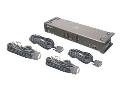 IOGEAR GCS1104 - KVM / audio switch - 4 ports