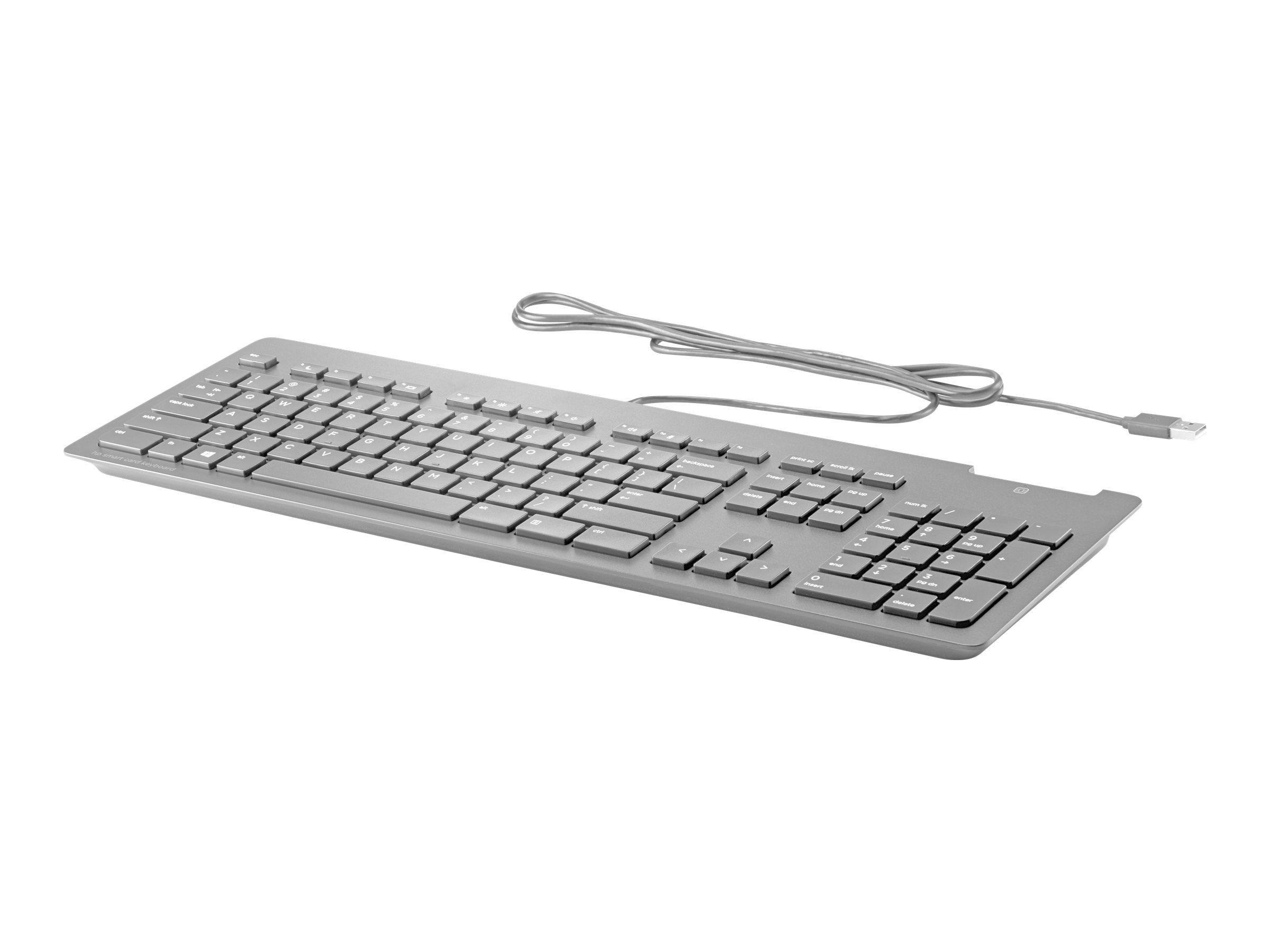 HP Business Slim - keyboard - US - black