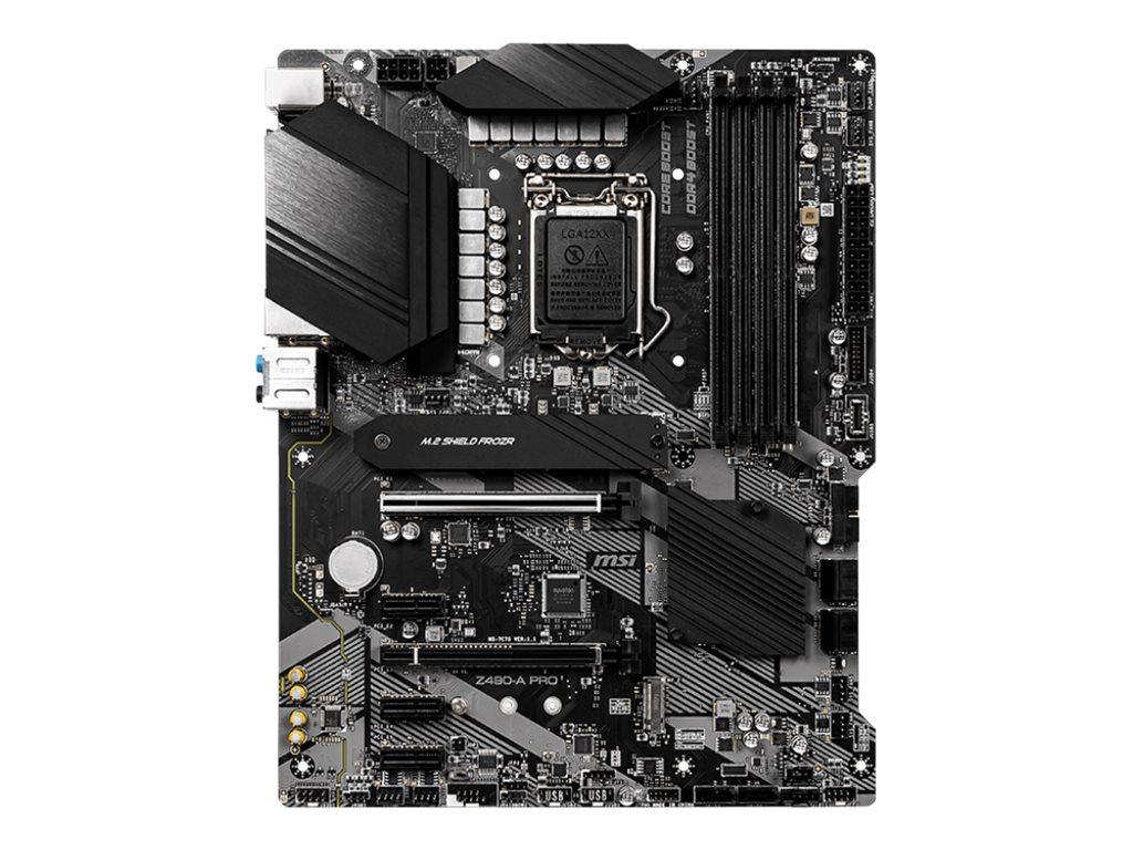 MSI Z490-A PRO - motherboard - ATX - LGA1200 Socket - Z490