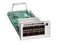 Cisco Catalyst 9300 Series Network Module - expansion module - 10 Gigabit SFP+ x 8