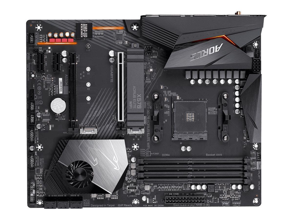Gigabyte X570 AORUS ELITE WIFI - 1.0 - motherboard - ATX - Socket AM4 - AMD X570