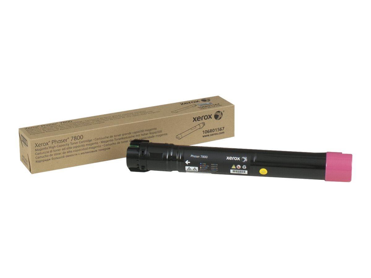 Xerox Phaser 7800 - High Capacity - magenta - original - toner cartridge