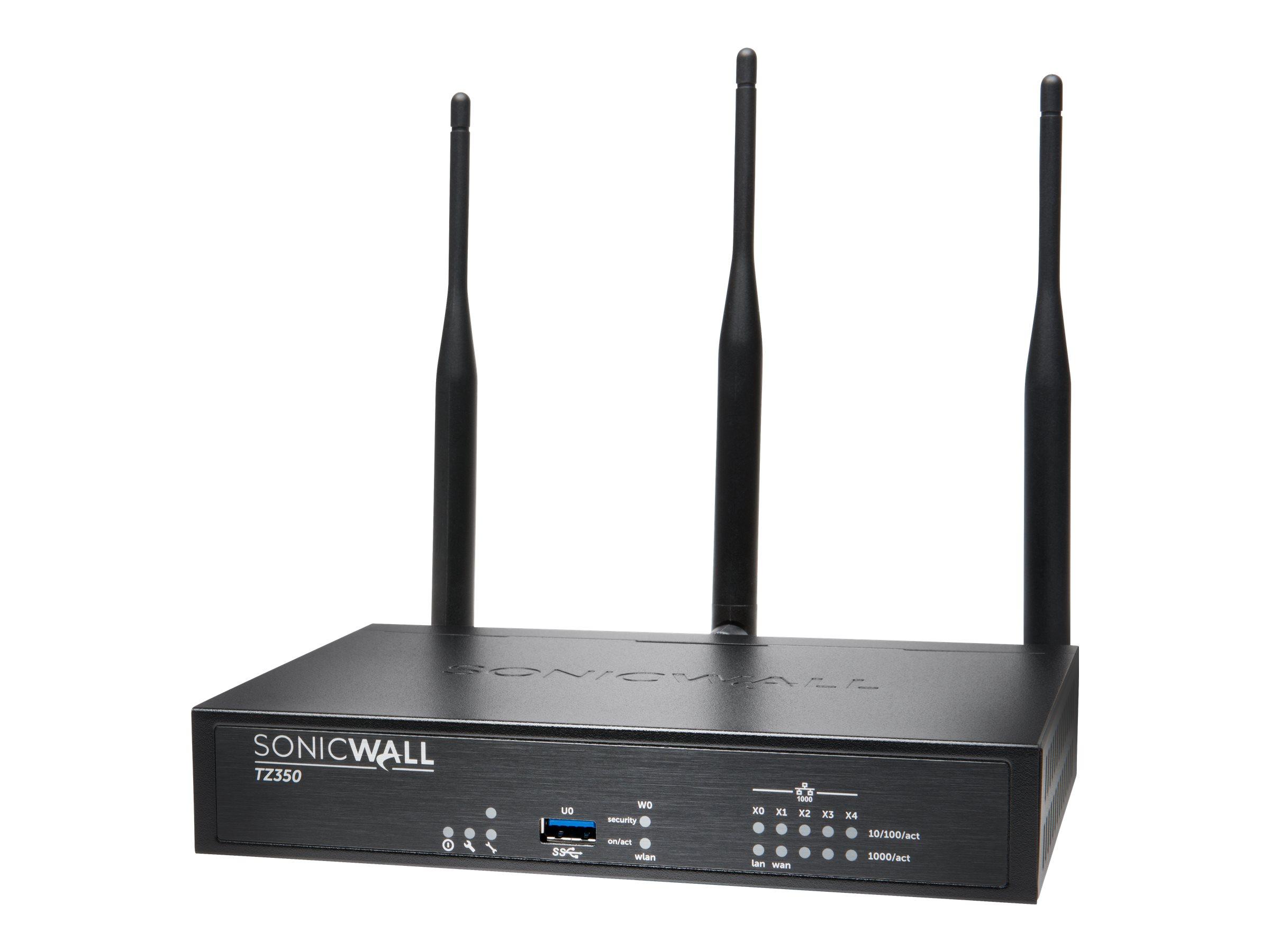SonicWall TZ350 Wireless-AC - security appliance