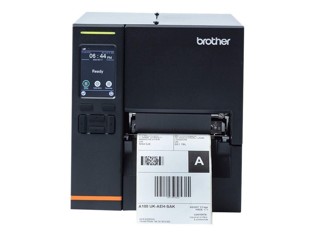 Brother TJ-4121TN - label printer - B/W - direct thermal / thermal transfer