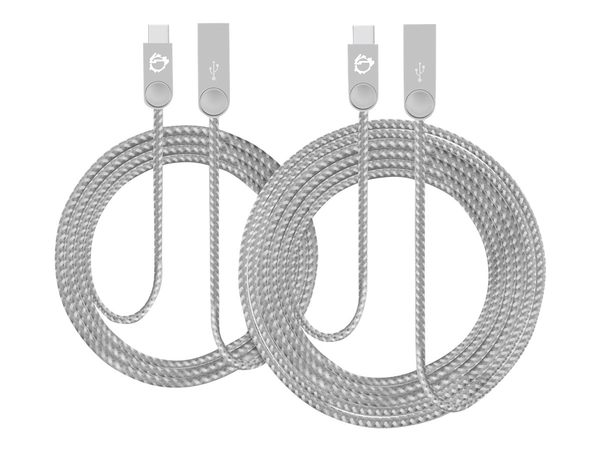SIIG Zinc Alloy 2-Pack - USB-C cable kit