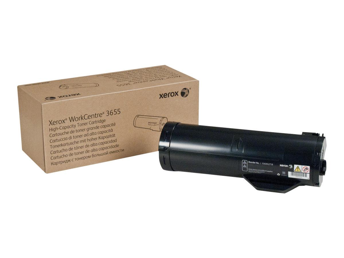 Xerox WorkCentre 3655 - High Capacity - black - original - toner cartridge