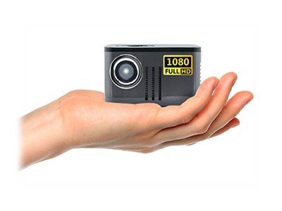 AAXA P7 Pico Projector - DLP projector - gray, black